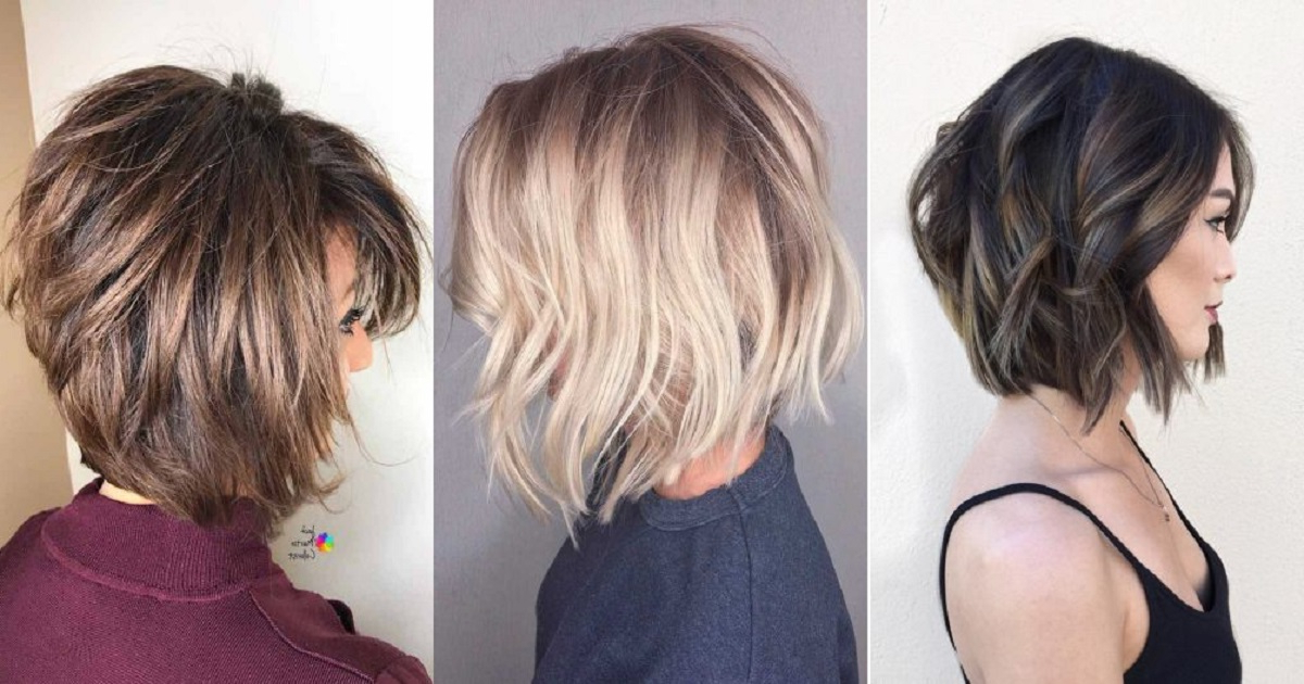40 Totally Trendy Layered Bob Hairstyles For 2019 | Hairs.london regarding Simple And Stylish Bob Haircuts
