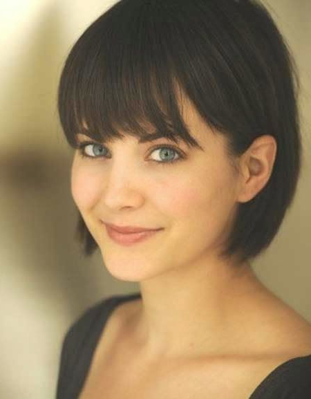 40 Trendy Bob Haircuts With A Bangs You Should Consider Intended For Hort Bob Haircuts With Bangs (View 3 of 25)