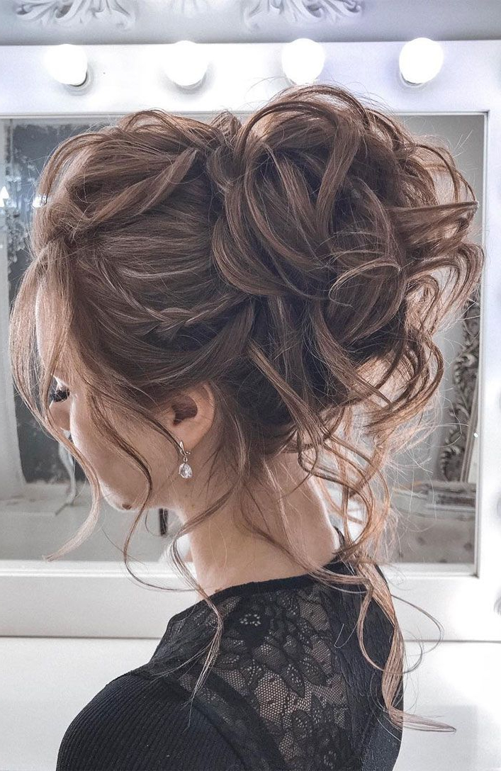 44 Messy Updo Hairstyles - The Most Romantic Updo To Get An in Elegant Messy Updo Hairstyles On Curly Hair