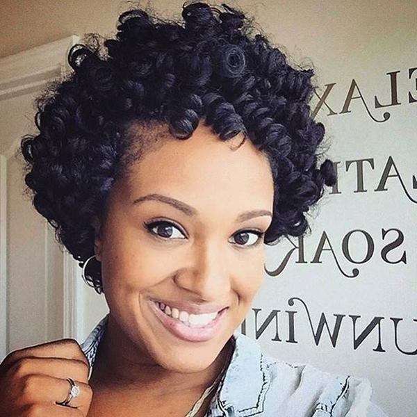 47 Beautiful Crochet Braid Hairstyle You Never Thought Of Before with Stylish Updos With Puffy Crown And Bangs