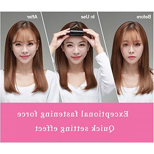 5 Types Of Korean Bangs & How To Create The Hairstyle Within Wispy Bangs Asian Hairstyles (View 16 of 25)