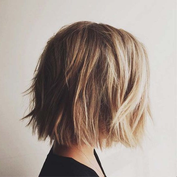 50 Amazing Blunt Bob Hairstyles You'd Love To Try In 2020 With Edgy Textured Bob Hairstyles (View 13 of 25)