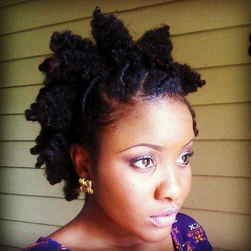 50 Beautiful Bantu Knots Ideas To Inspire You | Hair Motive Inside Twisted Bantu Mohawk Hairstyles (View 20 of 25)