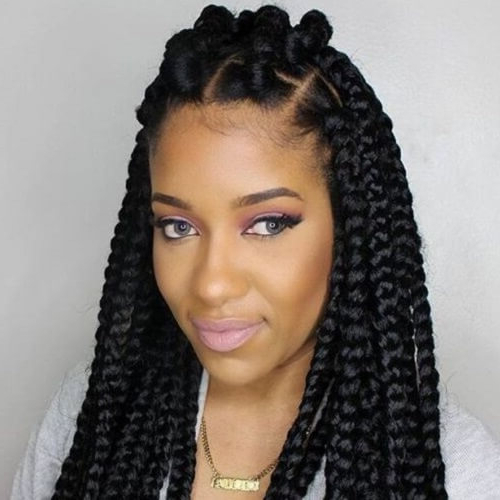 50 Beautiful Bantu Knots Ideas To Inspire You   Hair Motive With Regard To Braided Bantu Knots Mohawk Hairstyles (View 23 of 25)