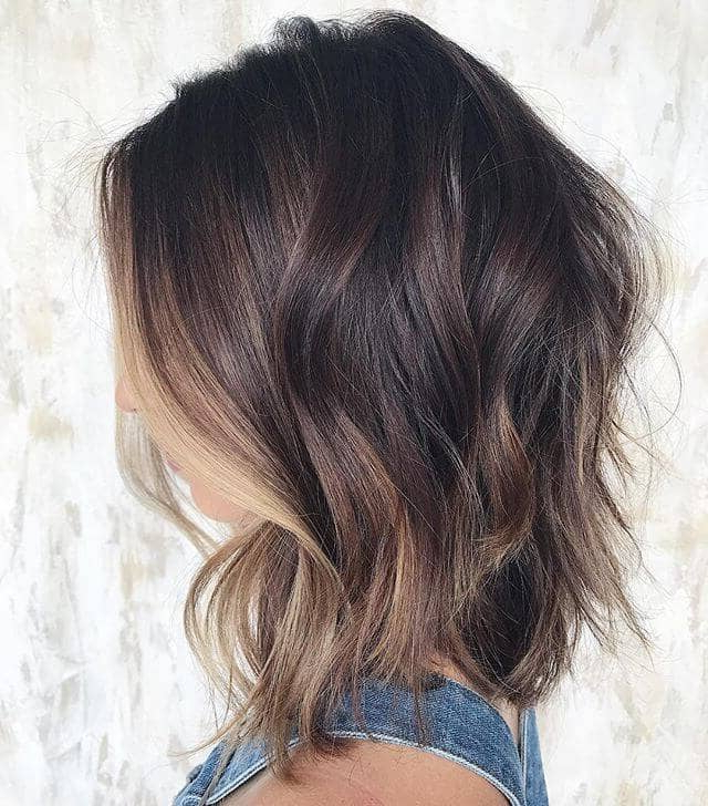 50 Best And Stylish Ideas For Long Bob Haircuts We Adore In 2019 Within Wavy Lob Hairstyles With Face Framing Highlights (View 16 of 25)