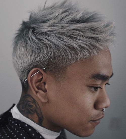 50 Best Asian Hairstyles For Men (2019 Guide) | Asian Hair Intended For Cool Silver Asian Hairstyles (View 4 of 25)