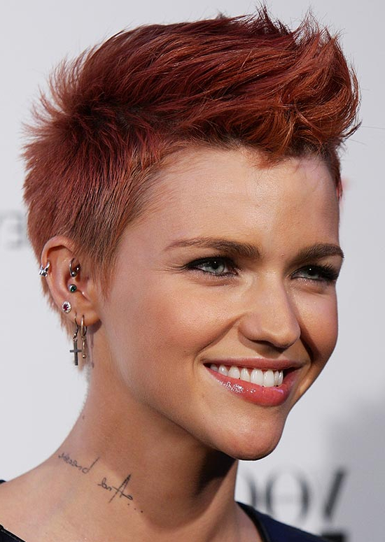 50 Best Hairstyles For Short Red Hair Pertaining To Hot Red Mohawk Hairstyles (View 24 of 25)