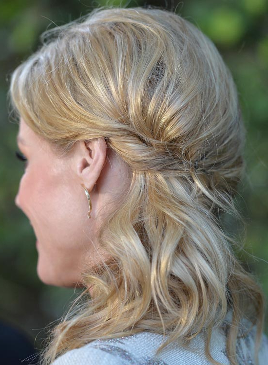 50 Best Hairstyles Of This Wedding Season Pertaining To Loose Waves Hairstyles With Twisted Side (View 6 of 25)