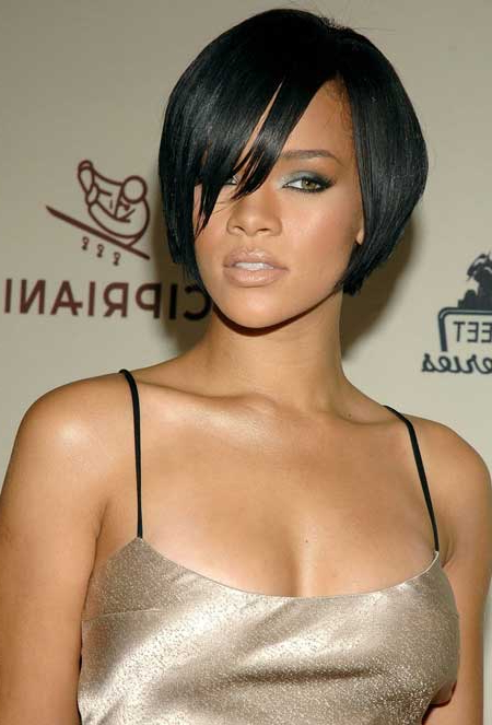 50 Best Short Hairstyles For Black Women | Herinterest/ Pertaining To Easy Side Downdo Hairstyles With Caramel Highlights (View 25 of 25)