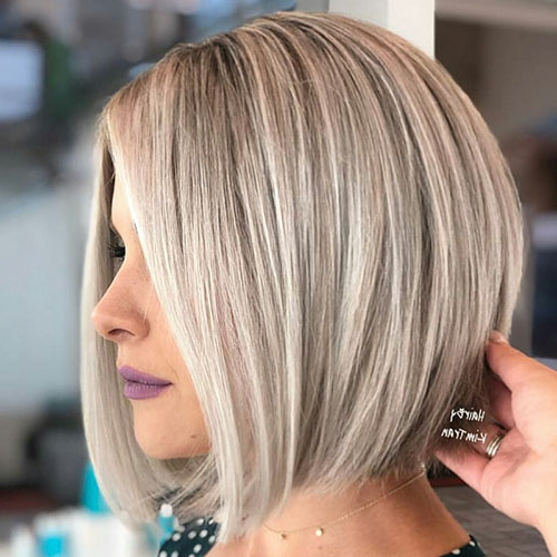 50+ Blonde Bob Hairstyles 2018 – 2019 | Bob Hairstyles 2018 Intended For Modern And Stylish Blonde Bob Haircuts (View 16 of 25)