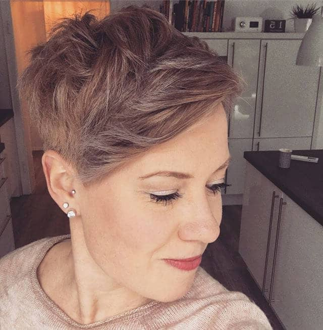 50 Bold Curly Pixie Cut Ideas To Transform Your Style In 2019 Intended For Blonde Pixie Haircuts With Curly Bangs (View 9 of 25)