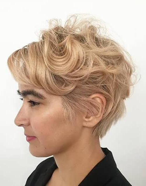 50 Bold Curly Pixie Cut Ideas To Transform Your Style In 2019 Throughout Pixie Haircuts With Large Curls (View 3 of 25)