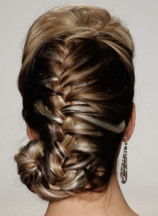 50 Braided Hairstyles That Are Perfect For Prom Throughout Braided Bun Hairstyles With Puffy Crown (View 8 of 25)
