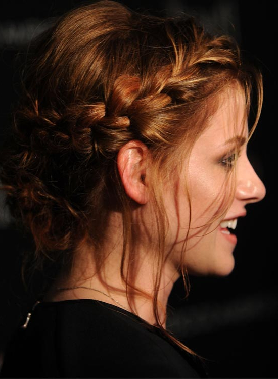 50 Braided Hairstyles That Are Perfect For Prom Throughout High Bun With Twisted Hairstyles Wrap And Graduated Side Bang (View 9 of 25)