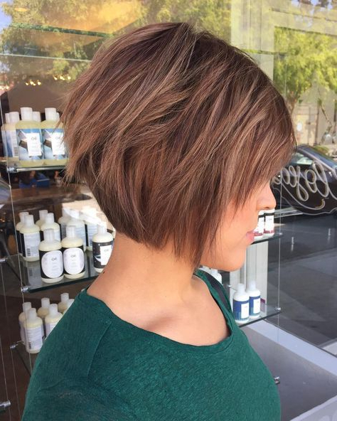 50 Chic Long And Short Layered Bob Haircuts — Dazzle With With Layered Short Bob Haircuts (View 7 of 25)