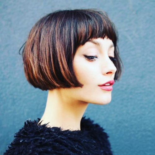 50 Chic Short Bob Hairstyles & Haircuts For Women In 2019 Intended For Trendy And Sleek Bob Haircuts (View 22 of 25)