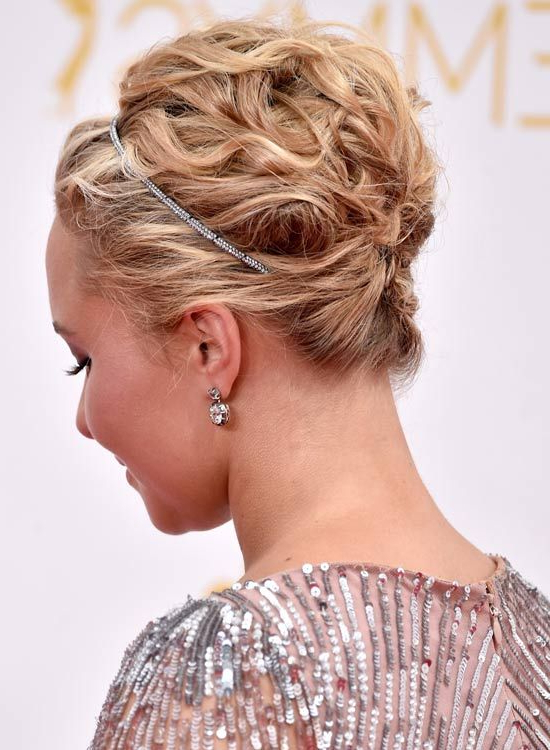 50 Gorgeous Short Updo Hairstyles | How To: Hairstyling With Regard To Braided Bun Hairstyles With Puffy Crown (View 5 of 25)