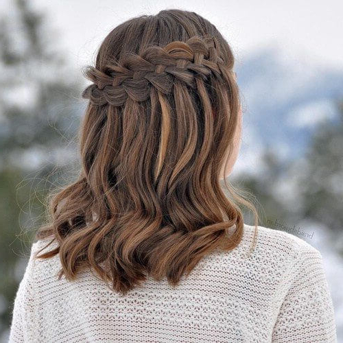 50 Medium Length Hairstyles We Can't Wait To Try Out!   Hair Regarding Braided Shoulder Length Hairstyles (View 5 of 25)