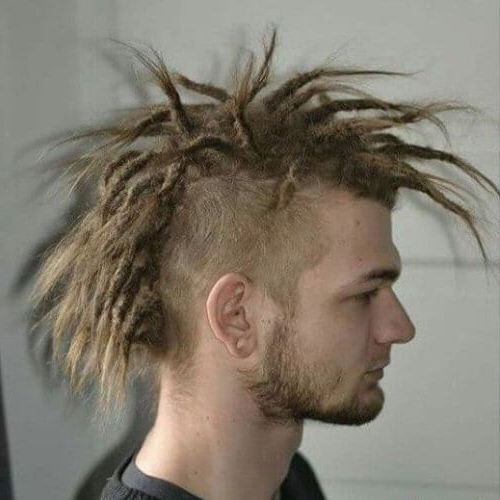 50 Outgoing Mohawk Haircut Ideas For That Extra Look In Medium Length Blonde Mohawk Hairstyles (View 7 of 25)