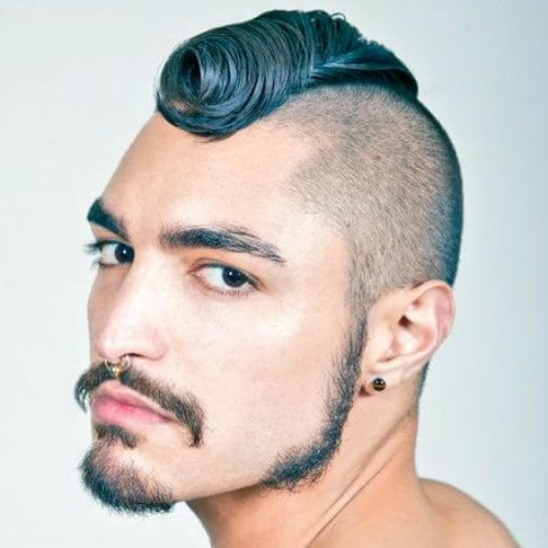 50 Outgoing Mohawk Haircut Ideas For That Extra Look Pertaining To Turquoise Side Parted Mohawk Hairstyles (View 21 of 25)