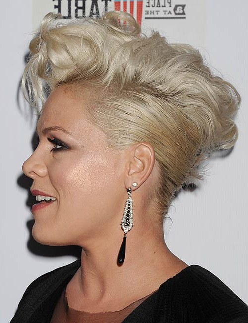 50 Sassy Short Punk Hairstyles With Regard To Punk Mohawk Updo Hairstyles (View 15 of 25)