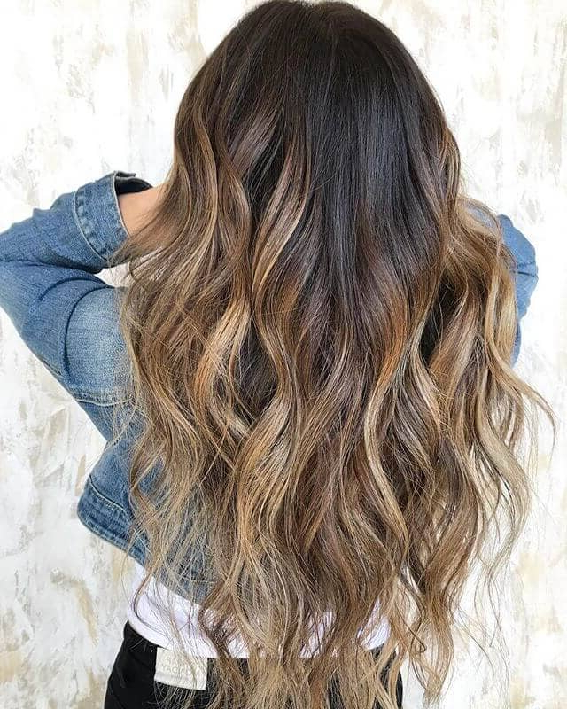 50 Sexy Long Layered Hair Ideas To Create Effortless Style Inside Long Waves Hairstyles With Subtle Highlights (View 25 of 25)
