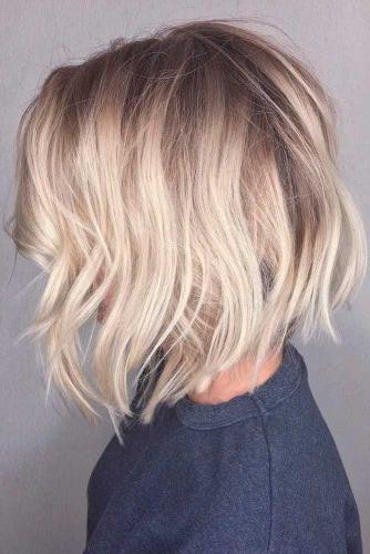 50 Stylish Layered Bob Hairstyles | Lovehairstyles Regarding Modern And Stylish Blonde Bob Haircuts (View 8 of 25)