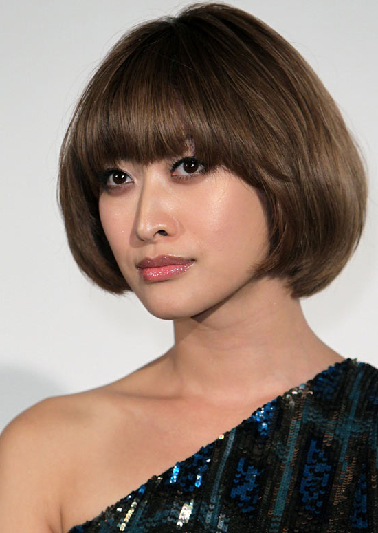 50 Trendy And Easy Asian Girls' Hairstyles To Try In Turned And Twisted Pigtails Hairstyles With Front Fringes (View 13 of 25)
