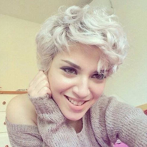50 Wavy & Curly Pixie Cut Ideas For All Face Shapes & Styles Inside Pixie Haircuts With Large Curls (View 22 of 25)