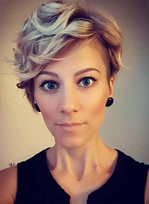 51 Lovely Short Curly Hairstyles: Tips For Healthy Short Curls Intended For Pixie Haircuts With Large Curls (View 11 of 25)