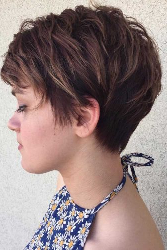 55 Best Short Haircuts 2019 – Quick & Easy To Style Pertaining To Highlighted Pixie Hairstyles (View 13 of 25)
