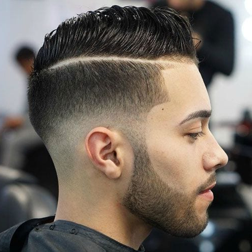55 Hottest Faux Hawk Haircuts For Men – Men Hairstyles World Pertaining To Mohawk Haircuts On Curls With Parting (View 20 of 25)