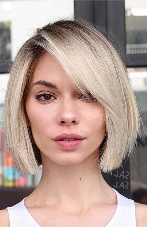 56 Stacked Bob Hairstyle For The Style Year 2019 – Style Easily With Regard To Classic Bob Hairstyles With Side Part (View 2 of 25)