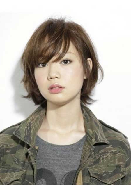 Featured Photo of Boyish Shag Asian Hairstyles