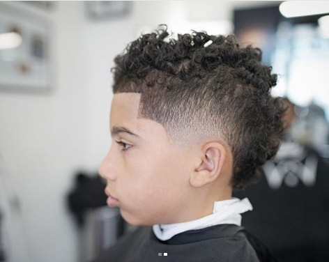 60 Little Black Boy Haircuts – Mrkidshaircuts Intended For Messy Curly Mohawk Haircuts (View 21 of 25)