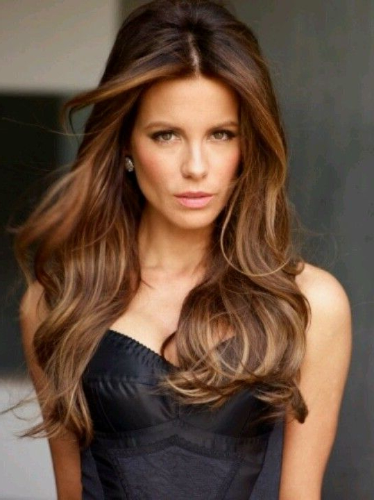 60 Looks With Caramel Highlights On Brown And Dark Brown For Long Waves Hairstyles With Subtle Highlights (View 12 of 25)