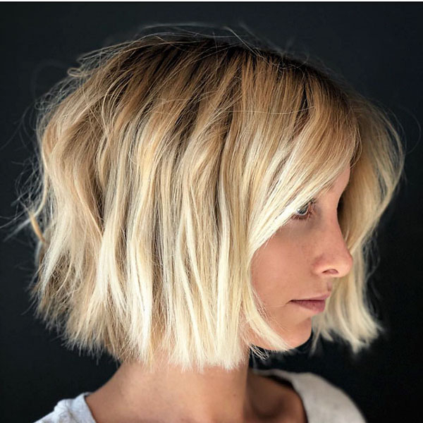 60+ New Short Blonde Hairstyles 2019 With Regard To Modern And Stylish Blonde Bob Haircuts (View 6 of 25)