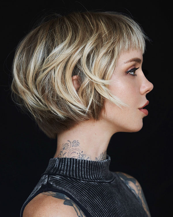 60 Popular Bob Hairstyles 2019 In Hort Bob Haircuts With Bangs (View 12 of 25)