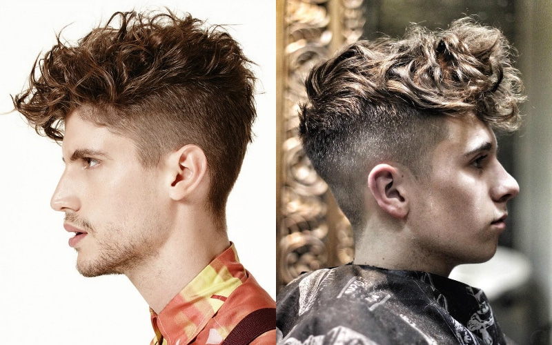 7 Best Faux Hawk Haircuts For Men In 2019 - The Trend Spotter pertaining to Long Curly Mohawk Haircuts With Fauxhawk
