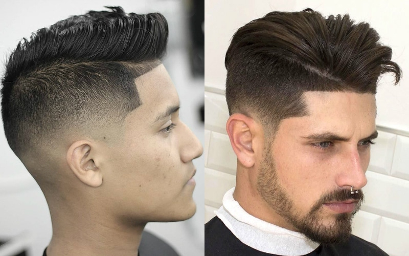 7 Best Faux Hawk Haircuts For Men In 2019 – The Trend Spotter Throughout Mohawk Haircuts On Curls With Parting (View 6 of 25)