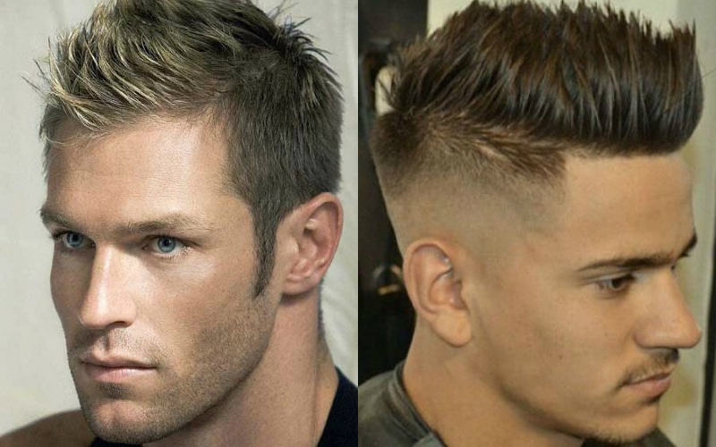 7 Best Faux Hawk Haircuts For Men In 2019 - The Trend Spotter with regard to Fauxhawk Haircuts