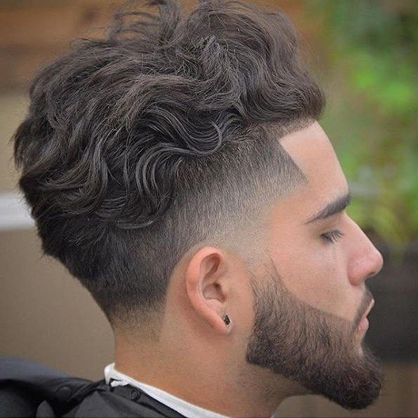 7 Wearable Curly Faux Hawk Styles For Men throughout Long Curly Mohawk Haircuts With Fauxhawk