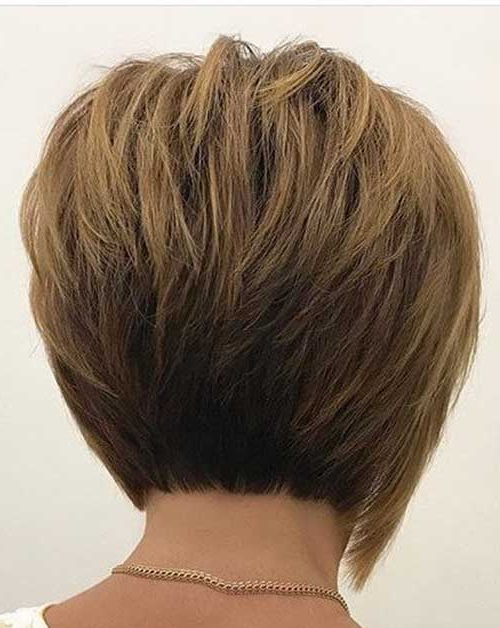 70+ Best Short Layered Haircuts For Women Over 50 | Short Intended For Layered Short Bob Haircuts (View 14 of 25)