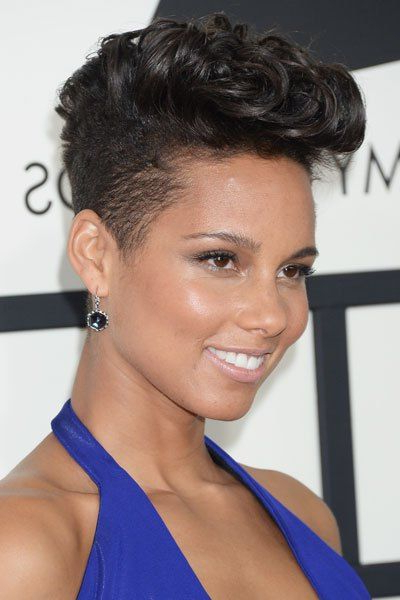 70 Most Gorgeous Mohawk Hairstyles Of Nowadays In 2019 intended for Alicia Keys Glamorous Mohawk Hairstyles