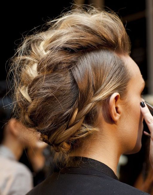70 Most Gorgeous Mohawk Hairstyles Of Nowadays In 2019 Regarding Long Hair Roll Mohawk Hairstyles (View 10 of 25)