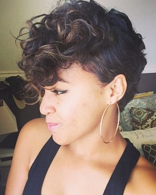 70 Most Gorgeous Mohawk Hairstyles Of Nowadays | Tara Hair intended for Chic And Curly Mohawk Haircuts