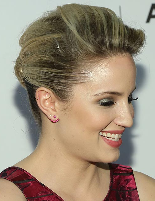 70 Pretty Updos For Short Hair - 2019 pertaining to Cute Bob Hairstyles With Bun