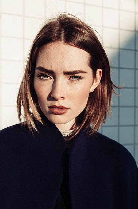 70 Stylish Bob And Lob Haircuts For You To Copy - The Trend intended for Classy Bob Haircuts With Bangs