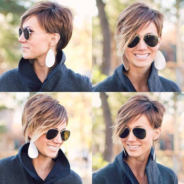 71 Best Short And Long Pixie Cuts We Love For 2019   Stayglam for Asymmetrical Pixie Haircuts