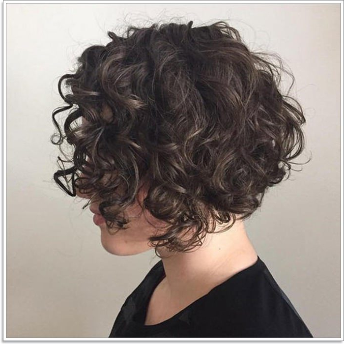74 Ways To Rock A Stacked Bob Haircut For Women Of All Ages inside Short Asymmetric Bob Hairstyles With Textured Curls